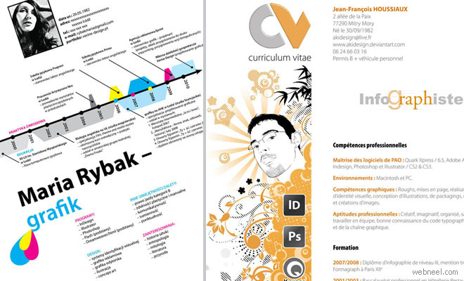 thumb resume25 25 Creative Resume Designs that will make you rethink your CV