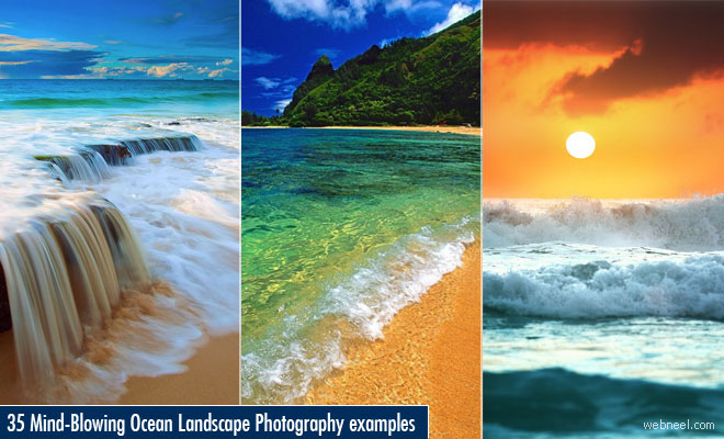 35 Mind-Blowing Ocean Landscape Photography examples