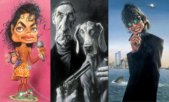 26 Beautiful Paintings and Caricatures by Sebastian Kruger