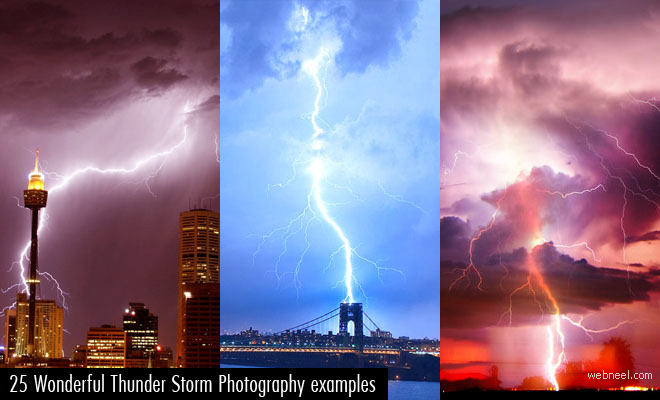 25 Wonderful Thunder Storm Photography Examples for your inspiration