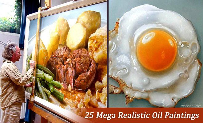 25 Mega Realistic Oil Paintings by Dutch Artist Tjalf Sparnaay