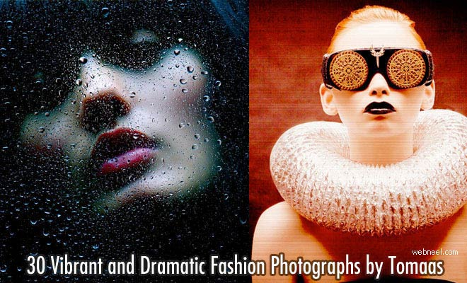 30 Vibrant and Dramatic Fashion Industry Photographs by Tomaas