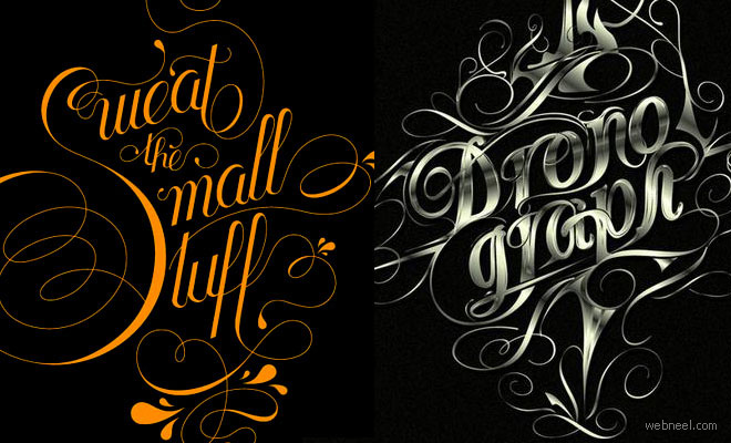 thumb typ 25 Creative Typography Graphic Illustrations