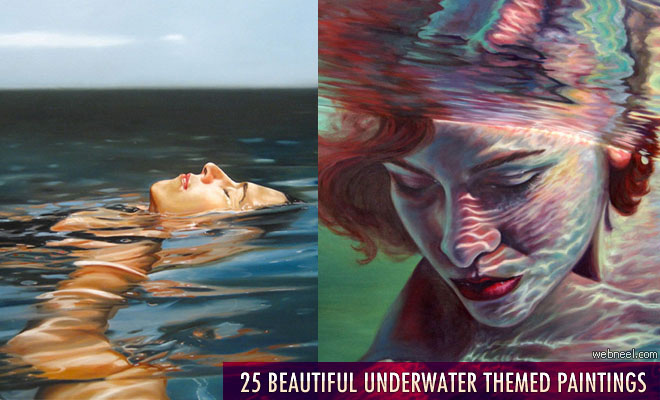 25 Best and Beautiful Underwater Paintings for your inspiration