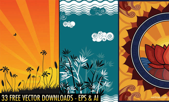 33 Free Vector Floral Designs and Backgrounds - Download High quality EPS AI Files