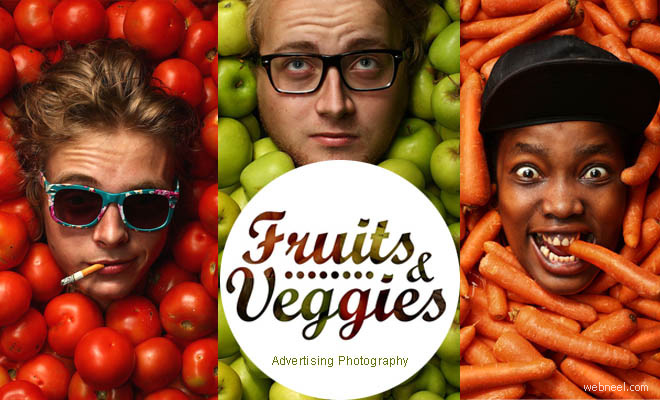 10 Modular Approach Photographs - Fruits and Veggies Advertising Photography