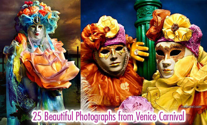 25 Beautiful Venice Carnival Photographs by Suchet Suwanmongkol
