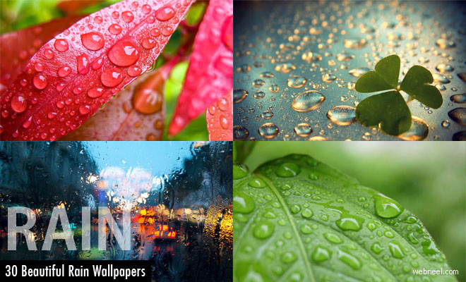 30 Beautiful Rain Wallpapers for your desktop