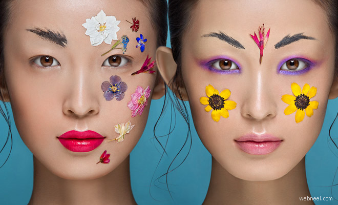 20 Inspiring Beauty Industry Photographs by Yulia Gorbachen - Skin Retouching works