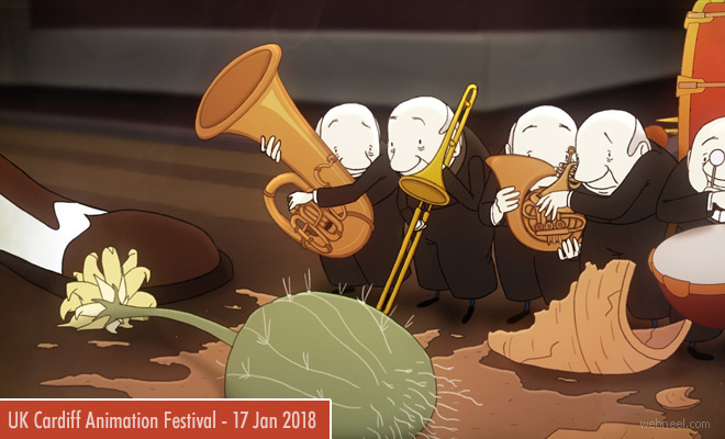 Cardiff Animation Festivals calls for entries 17 January 2018