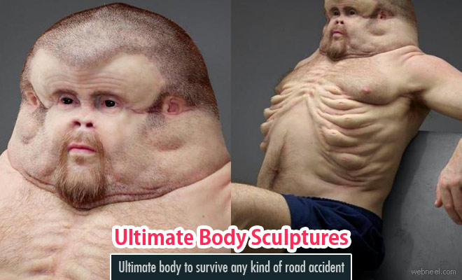 The Ultimate body to survive any kind of road accident - Graham Sculpture