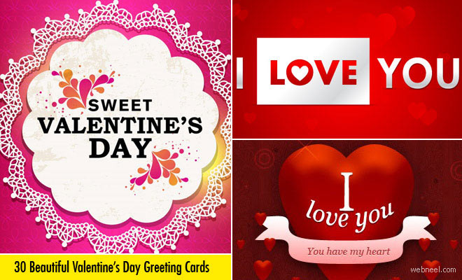 30 Beautiful Valentines Day Cards - Greeting Cards inspiration