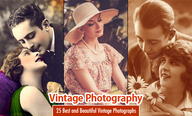 40 Best and Beautiful Vintage Photography examples - part 2