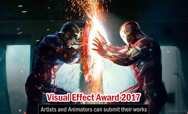 Visual Effect Award 2017- Artists and Animators can submit their works