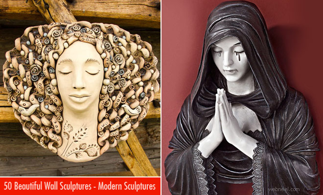 50 Beautiful Wall Sculptures around the world - part 3