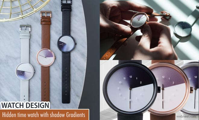 Anicorn launches new Watch Designs with hidden time shadow gradients