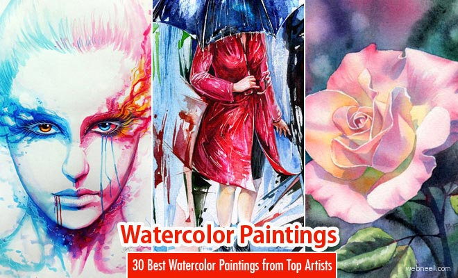 30 Best Watercolor Paintings From Top artists around the world