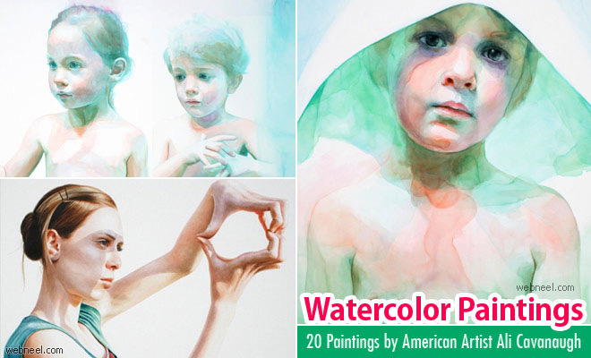 20 Beautiful Watercolor Painting by American Artist Ali Cavanaugh