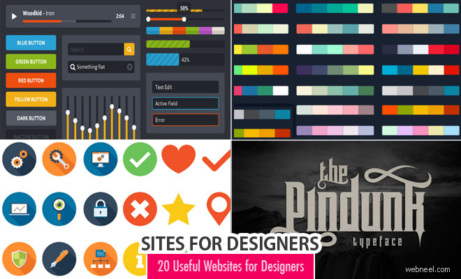 Top websites for designers