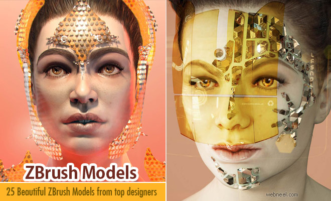 25 Best Zbrush Models and 3D Character Designs for your inspiration