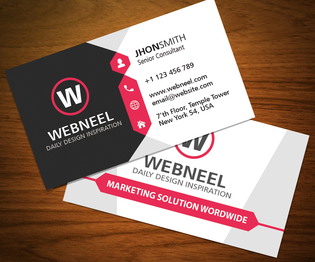 32 Modern business card template   free download