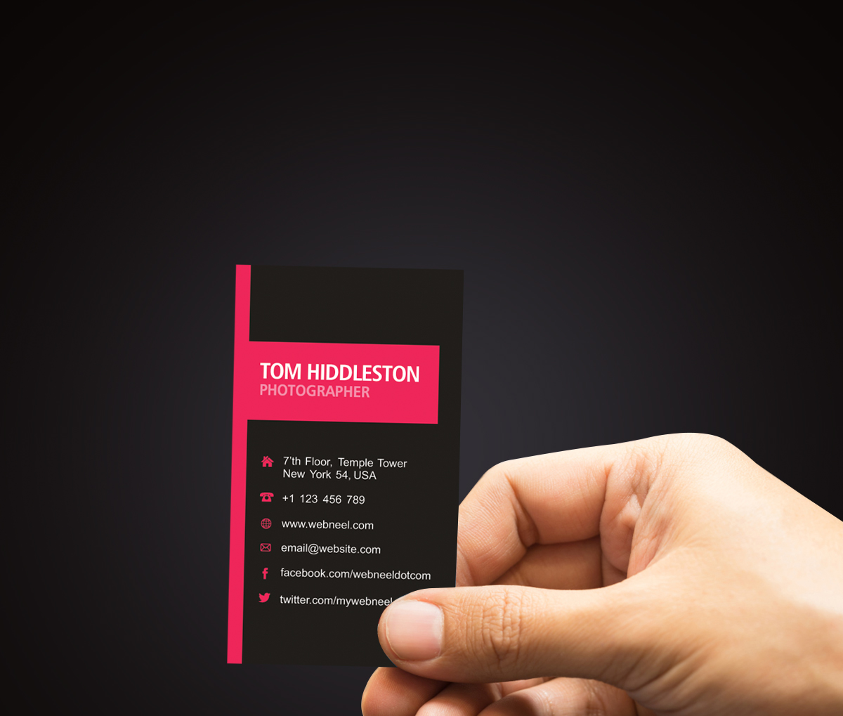 Photography Business Card Design template 37 - Freedownload Printing ...