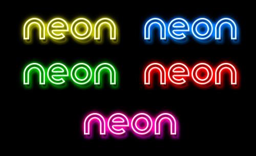 Neon Glow Styles