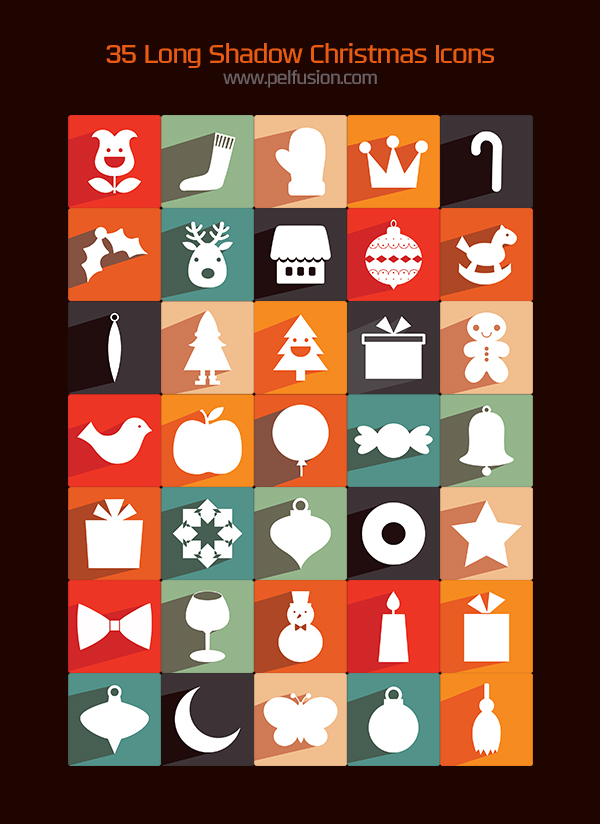 Free chrismtas icon set by pelfusion