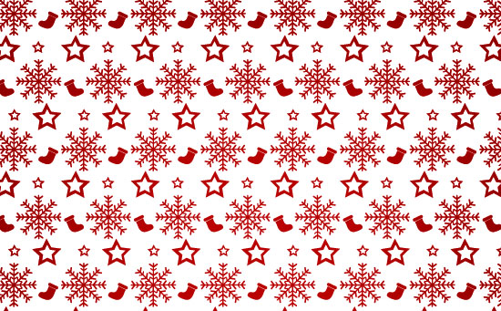 Christmas Stockings Vector Pattern