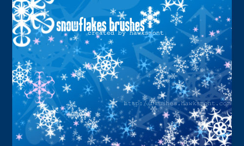 Snowflake Brushes by Hawkmont