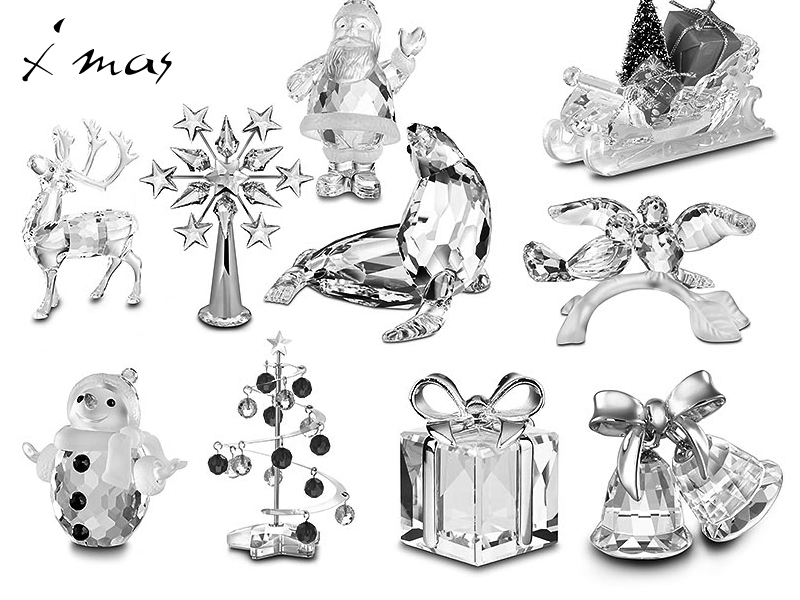 Crystal Christmas Miniatures