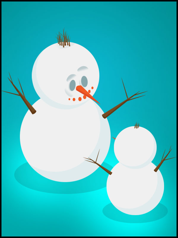 Snowman   Christmas Eve   PNG