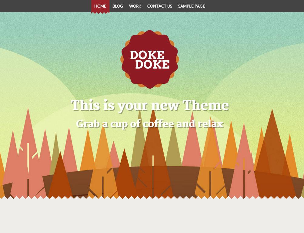Doke Doke   Free WordPress Themes