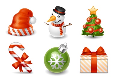 Christmas   Winter Holiday Icon set