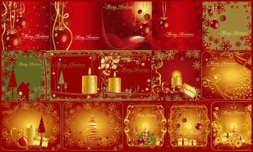 19 awesome Christmas Greeting card Templates