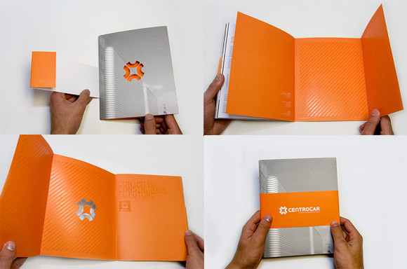 30 creative brochure design inspiration for you for Interesting brochure designs