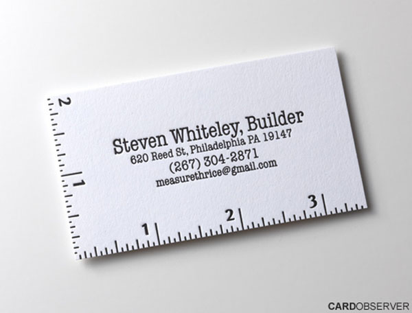 17 ugly fancy and amazing business cards you need to see to believe painter heres another example of simplicity that works its a beautiful business card but its simple to the core the top part of the card appears to colourmoves