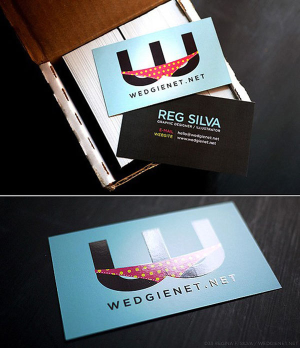 brilliant business card