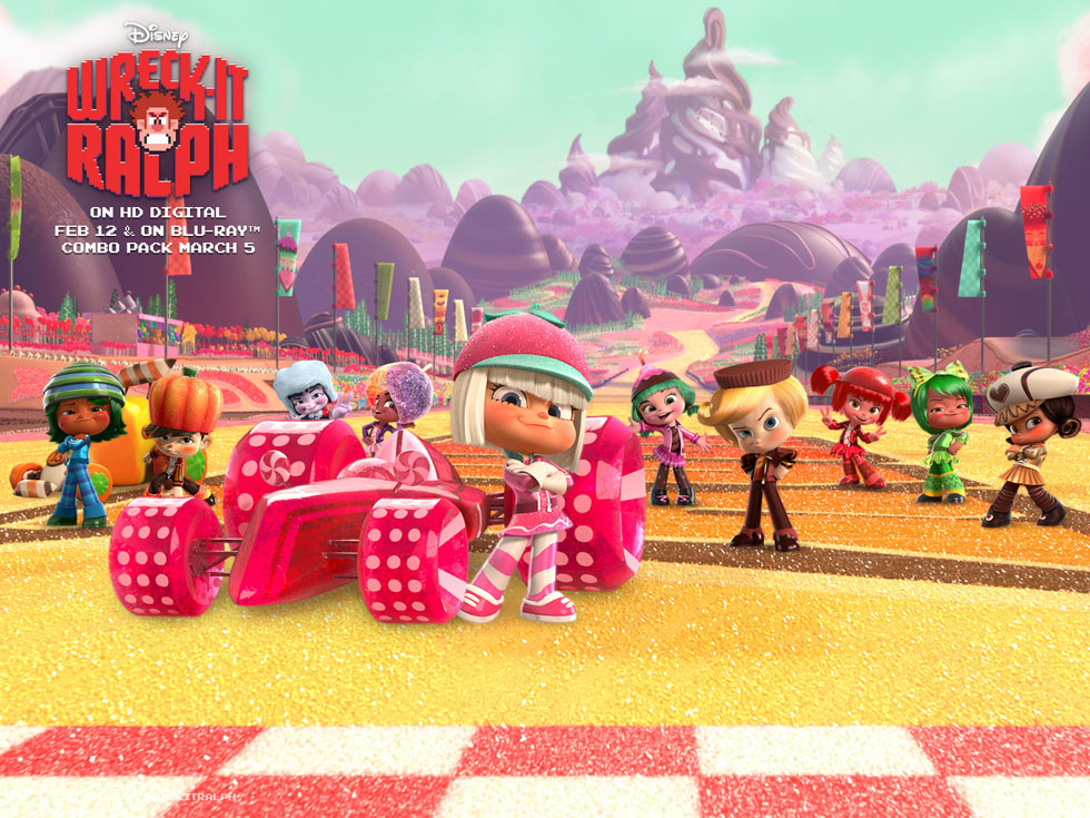 30 racers wreck it ralph character design  0