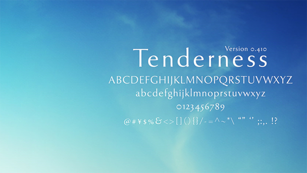 Tenderness (  )