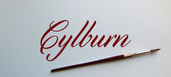 Cylburn font free download