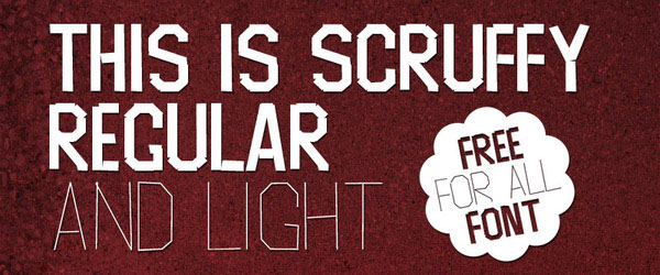 Scruffy Uppercase Only Font (  )