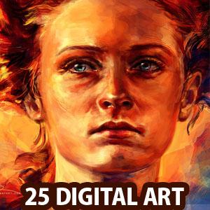 Colorful Digital Paintings