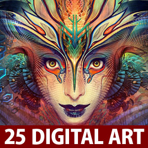 25 Creative Digital Artworks by Android Jones - Dreams of Digital Imagination
