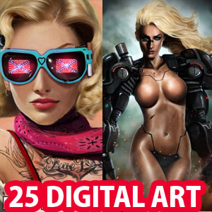 25 Stunning Digital Art works and Game Character Designs by Dan Luvisi
