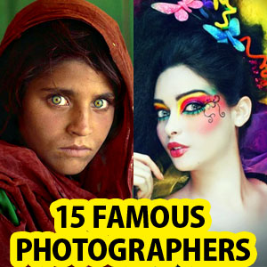 Top 20 Famous Photographers from around the world and their photos