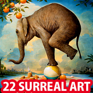 22 Creative American Magical Realism Paintings by Kevin Sloan