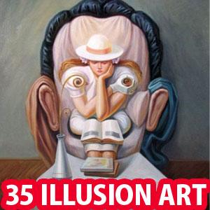 35 Mind Blowing Illusion Paintings By Oleg Shuplyak