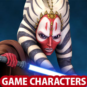 25 Star War Game Characters and 3D Models for your Inspiration