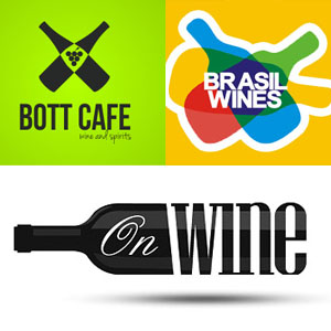 Wine logo designs